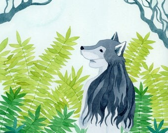 Tell the Wolves I'm Home - Archival Art Print