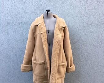 Women's sheepskin winter coat
