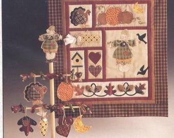Seasons of the Heart AUTUMN Quilt Pattern - Uncut - Q051