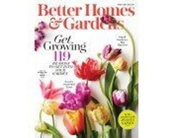Better Homes & Gardens 2 years / 24 issues Magazine Subscription
