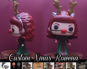 Supernatural Xmas Rowena - Custom Funko pop toy