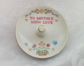 Ring Holder, Ceramic Ring Holder, Porcelain Ring Holder, Ring Holder Made in Japan, Ring Dish
