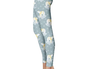 Polar Bear Leggings, Capris or Yoga Pants