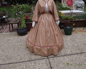 Ladies Size 14 Civil War Zouave Suit