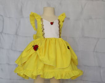 Belle Flutter Sleeve Dress