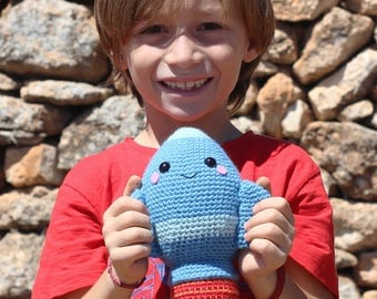 Crochet pattern - Ray the Rocket by Tremendu - amigurumi crochet toy, PDF digital pattern