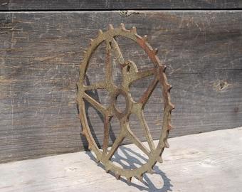 Vintage Skiptooth Bicycle Sprocket, Star Bicycle Sprocket, Vintage Bicycle Parts