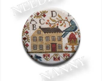 NEW Pick One Summer Schoolhouse Needle Nanny With Thy Needle & Thread Nannies Minder Stitch Dots Zappy at thecottageneedle.com stitch notion