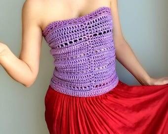 Crochet Pattern / Crochet Top Pattern / Crochet for Women / Crochet Summer Top Pattern / Crochet Corset Top