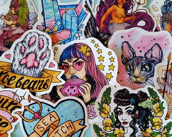 Jumbo Mixed Sticker Pack