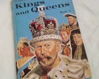 Vintage Ladybird Book Kings and Queens of England Book 2 - Series 641 - Tally 330 - Matt Covers