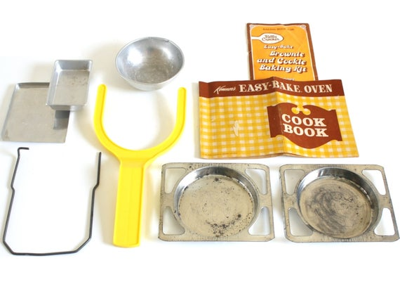 Easy Bake Oven Cake Pans Instruction Manual Cookbook