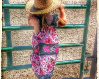 Cowgirl EpiPen Belt /  Horse Medicine Case for Girls / AuviQ Fanny Pack / Custom Personalized by Alert Wear