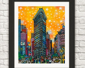 Flatiron building New York/NYC Landmark flatiron
