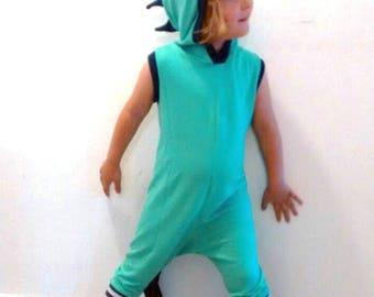 Dragon Romper/ Dragon playsuit / Gift for Kids/ christmas Gift/ Kids Dragon