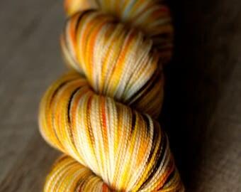 "Sock yarn - 100% SW Merino - Autocorrect - ""No Need To Applesauce"""