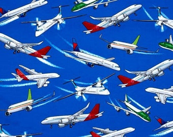 Commercial Airplanes from Timeless Treasures - Vehicles and Transportation Collection