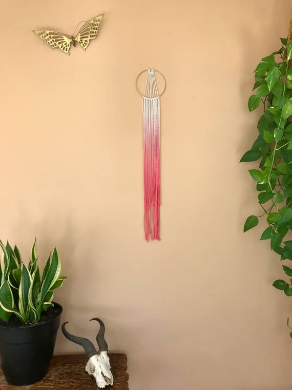 Small Sunburst Macrame Dream Catcher