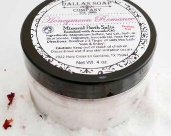 Honeymoon Romance Mineral Bath Salts