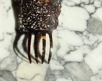 Spanish Style Extra Large Hair Comb Vintage