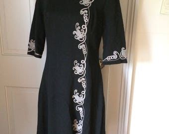 Edith Flagg Vintage Dress  FREE US SHIP
