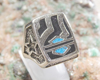 Silver Harley Biker Ring