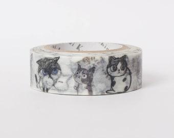 Japanese masking tape by Shinzi Katoh - Cats