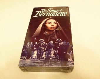 Song of Bernadette VHS Video Tape 1992 Version New Factory Sealed Jennifer Jones Vincent Price