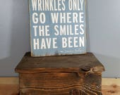 Jimmy Buffett Quote - Barefoot Children in the Rain. Hand painted, distressed, wooden sign.  Beach, Parrot Head