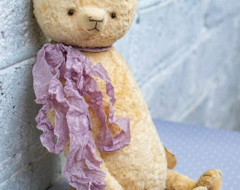 OOAK Artists Teddy Bear pattern, teddy pattern, teddy bear pattern, pdf pattern teddy bear, plush bear, soft toy pattern