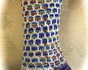 Bee Hive Sock Kit - Hand dyed Yarn and pattern - Save the Bees!