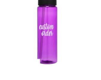 Water bottle, water bottle straw, personalized water bottle, water bottle custom, 24 oz water bottle, custom water bottle,  bottle decal