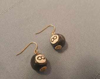 8 Ball Earrings