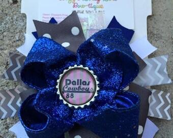 Dallas Cowboys Hair Bow