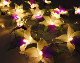 flower string lights for bedroom bedroom lights etsy 18698