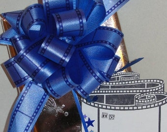 Movie, Film, Cinema Themed Gift Set Includes Gift Bow and Matching Gift Tag Stage and Screen Gift Ideas