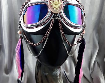 Burning Man Mad Max Music Festival style Goggles