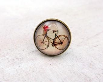 Bike Ring, Bike jewelry, vintage ring,  (2020B)