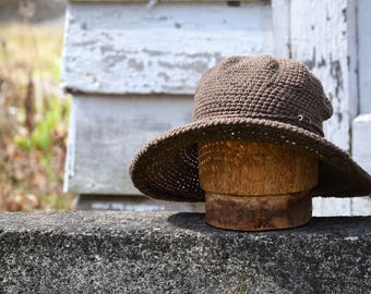 Summer Cotton Sun Hats for Women, Travel Accessories, Hat Kit, Hat and Matching outdoor gear, Camping Gear, Hiking Accessories, Outerwear