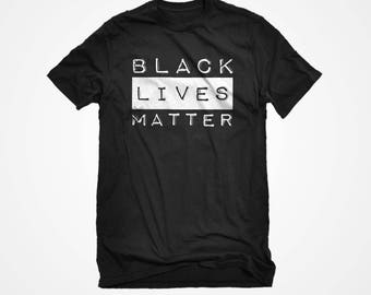Mens Black Lives Matter Unisex Adult Cotton Men's Short Sleeve Racial Equality Tshirt Gift for Him or Her #3244