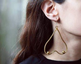 Titties earrings