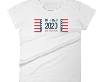 HopeRah hope for President American Flag 2010 Women's short sleeve t-shirt