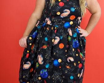Plus Size Dress, Plus Size Vintage Dress, Plus Size 1950s Dress, Plus Size Rockabilly Clothing, Plus Size Vintage Clothing, Plus Size