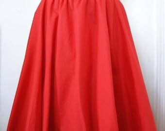 Corolla elasticated Red skirt
