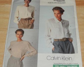 VOGUE Amereican Designer Calvin Klein Uncut Pattern 12-14-16