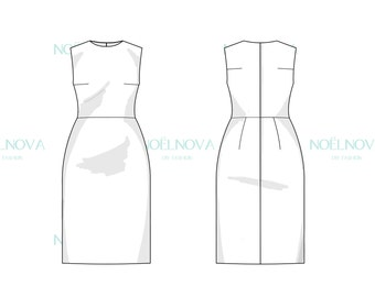 Dress Block PDF Sewing Pattern