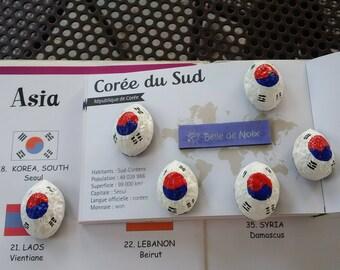 Flag Magnet South Korea