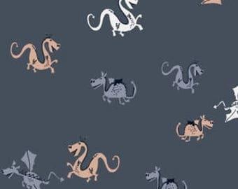 Baby Bedding Crib Bedding - Dragon, Gray, Blue, White - Baby Blanket, Crib Sheet, Crib Skirt, Changing Pad Cover, Boppy Cover