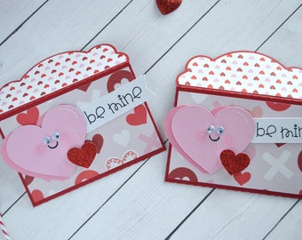 Valentine Gift Card Holder, Valentine Love Note, Lunch Box Notes, Mini Envelopes, Valentines Day Card, Cute Valentine, Love Card, Holiday