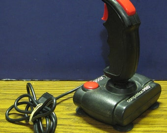 Atari 2600 / Commodore 64 Competition Pro Arcade Quality Joystick 1980s Vintage